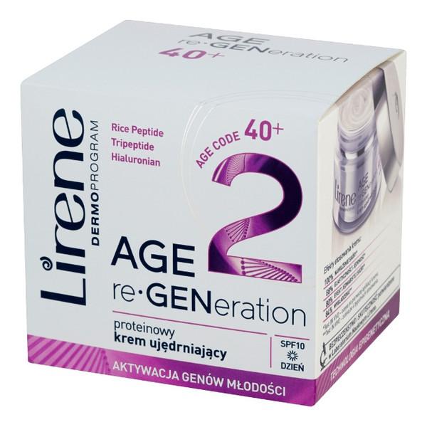 Lirene Age re-Generation DermoProgram 40+ Proteinowy krem ujędrniający na dzień 50ml