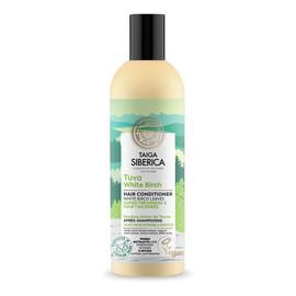 Taiga siberica tuva white birch wegańska odżywka do włosów z białą brzozą intensywne odświeżenie i pogrubienie włosów