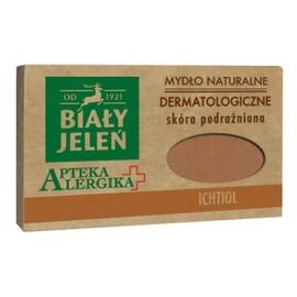 Dermatologiczne mydło z ichtiolem, cera podrażniona i szorstka