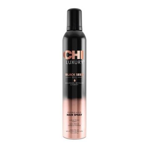 CHI Luxury Black Seed Oil Elastyczny lakier do włosów 340g
