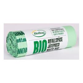 Worki na odpady organiczne i zmieszane, 100% biodegradowalne i kompostowalne rolka 20 szt