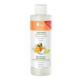 Żel myjący do twarzy z naturalnym olejkiem pomarańczowym