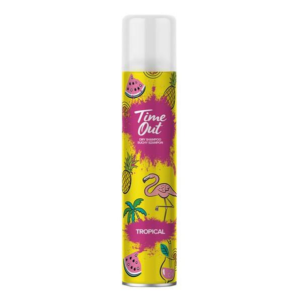 TIME OUT Suchy szampon do włosów TROPICAL 200ml