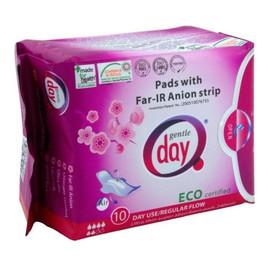 Pads With Far-IR Anion Strip podpaski higieniczne na dzień z paskiem anionowym eco 10szt