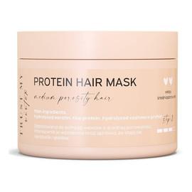 Proteinowa maska do włosów średnioporowatych