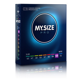 Condoms prezerwatywy 69mm 3szt