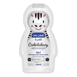 Żel do mycia ciała,włosów i twarzy 3w1 dla dzieci Czekoladowy
