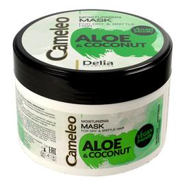 Aloes i Kokos Maska nawilżająca do włosów