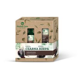 Zestaw prezentowy Herbal Care Czarna Rzepa (Szampon do włosów 330ml+Odżywka do włosów 200ml)