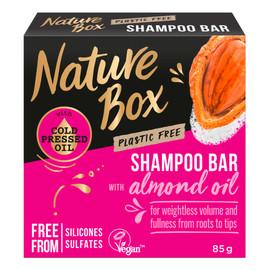 Shampoo bar szampon do włosów w kostce almond oil