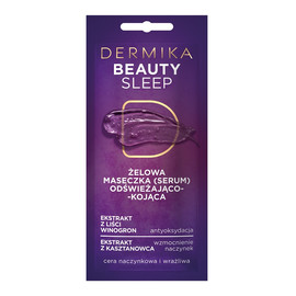 Beauty Sleep żelowa maseczka odświeżająco-kojąca do cery naczynkowej i wrażliwej
