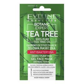 Tea Tree Żelowa Maseczka antybakteryjna głęboko oczyszczająca