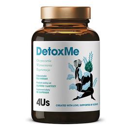 4us detoxme oczyszczenie wzmocnienie i regeneracja suplement diety 90 kapsułek