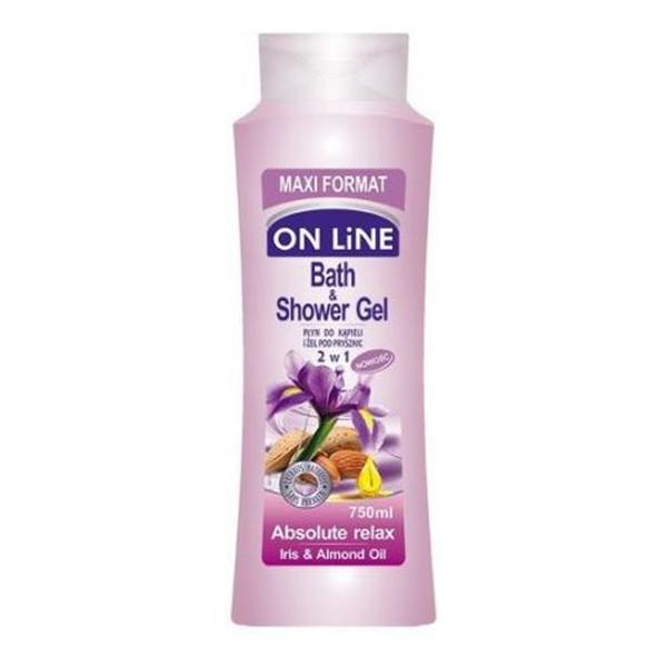 On Line Bath & Shower Gel Płyn do kąpieli i pod prysznic Absolute Relax 750ml