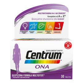 Ona witaminy i minerały dla kobiet suplement diety 30 tabletek