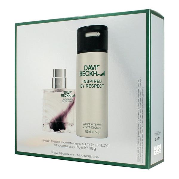 David Beckham Inspired By Respect Zestaw prezentowy (dezodorant spray 150ml +woda toaletowa 40ml)