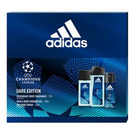 Zestaw dezodorant spray szkło 75ml + żel pod prysznic 250ml + dezodorant spray 150ml
