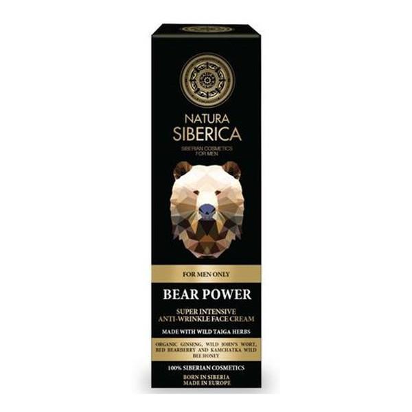 Natura Siberica FOR MEN intensywny krem przeciwzmarszczkowy dla mężczyzn 50ml