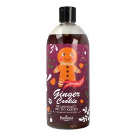 Żel Relaksujący do kąpieli Ginger Cookie wersja świąteczna popsute otwarcie