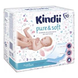 Pure & Soft Podkłady jednorazowe dla niemowląt 1 op. 10 szt.