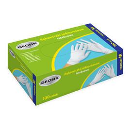 Rękawiczki lateksowe M/100szt