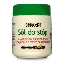 Sól Do Stóp Z Ekstraktem Z Kasztanowca I Olejkiem Z Drzewa Herbacianego