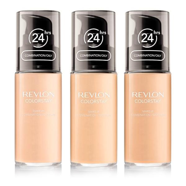 Revlon Pump ColorStay Combination Oily 24 h Podkład Do Cery Tłustej i Mieszanej Z Pompką 30ml