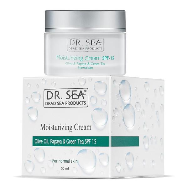 Dr. Sea Odżywczy krem do twarzy do cery normalnej SPF15 50ml