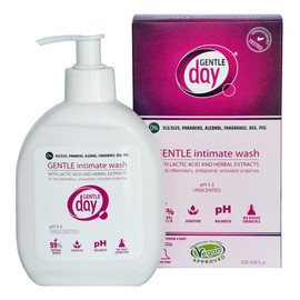 Gentle intimate wash płyn do higieny intymnej z kwasem mlekowych i ekstraktem z ziół