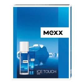 Zestaw prezentowy Ice Touch Man (deo naturalny spray 75ml+żel pod prysznic 50ml)
