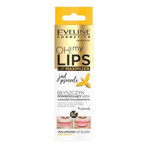 Eveline Oh My Lips Maximizer błyszczyk powiększający usta Jad Pszczeli