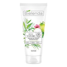 Peeling do twarzy detoksykujący Woda Kokosowa & Zielona Herbata & Trawa Cytrynowa