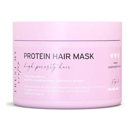 Proteinowa maska do włosów wysokoporowatych