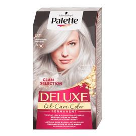 Deluxe oil-care color farba do włosów trwale koloryzująca z mikroolejkami u71 mroźne srebro