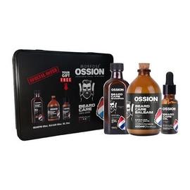 Zestaw szampon do brody 100ml + balsam do brody 100ml + olejek do brody 20ml metalowe pudełko