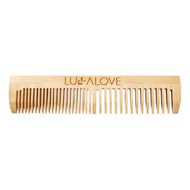 Grzebień drewniany do olejowania włosów