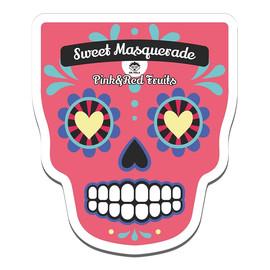 Sweet Masquarade Pink & Red Fruits Sheet Mask rewitalizująco-rozświetlająca maseczka w płachcie