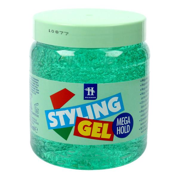 Hegron Styling Żel do modelowania włosów mega hold zielony 500ml