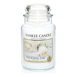 duża świeczka zapachowa Wedding Day