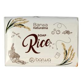 odżywcze mydło w kostce do rąk i ciała Rice