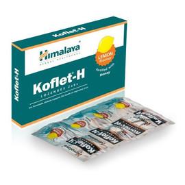 Koflet-H suplement diety na kaszel Lemon 12 Pastylek