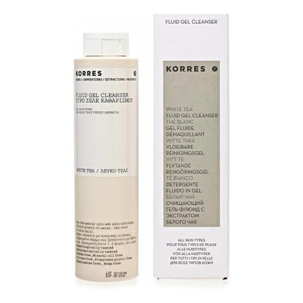 Korres White tea fluid gel cleanser Płynny Żel do mycia twarzy z wyciągiem z białej herbaty 200ml