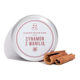 Mus do ciała Cynamon z Wanilią