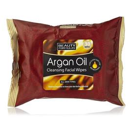 Argan Oil Cleansing Facial Wipes Oczyszczające Chusteczki z Olejkiem Arganowym 30 szt.
