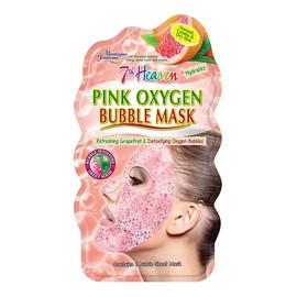Bubble Mask nawilżająca maseczka bąbelkowa w płachcie skóra normalna, mieszana i sucha Grapefruit