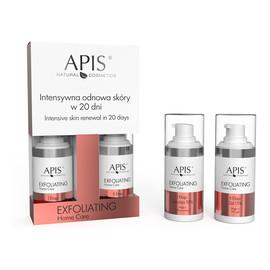 Face Exfoliating Set Intensywna odnowa skóry w 20 dni zestaw emulsja 10% 15ml + żel 15% 15ml