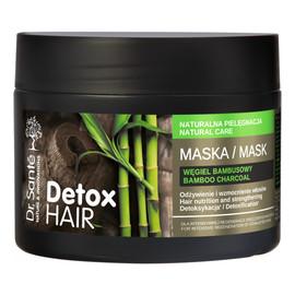 Maska Do Włosów Zmęczonych Z Węglem Bambusowym