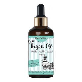 olej arganowy z pipetą