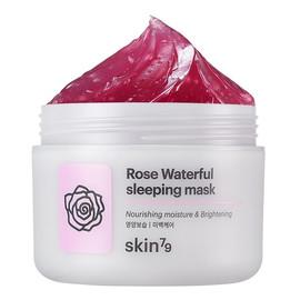 Rose Waterful Sleeping Mask różana maska rozjaśniająco-złuszczająca całonocna