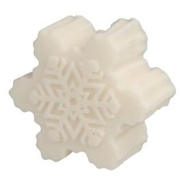 Mydełko glicerynowe Śnieżynka biała